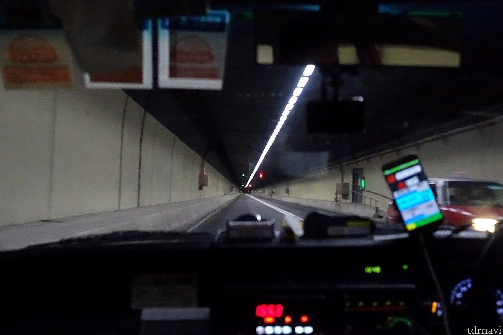 ディスカバリーベイは長いトンネルでつながっています。