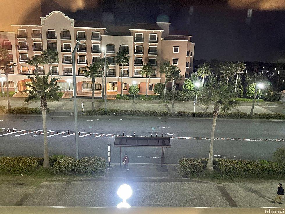 オーシャンサイドビュー。向かいに見えるのがセレブレーションホテル・ディスカバー<br> ただいま休館中です<br> 次はあっちに泊まりたい、、、