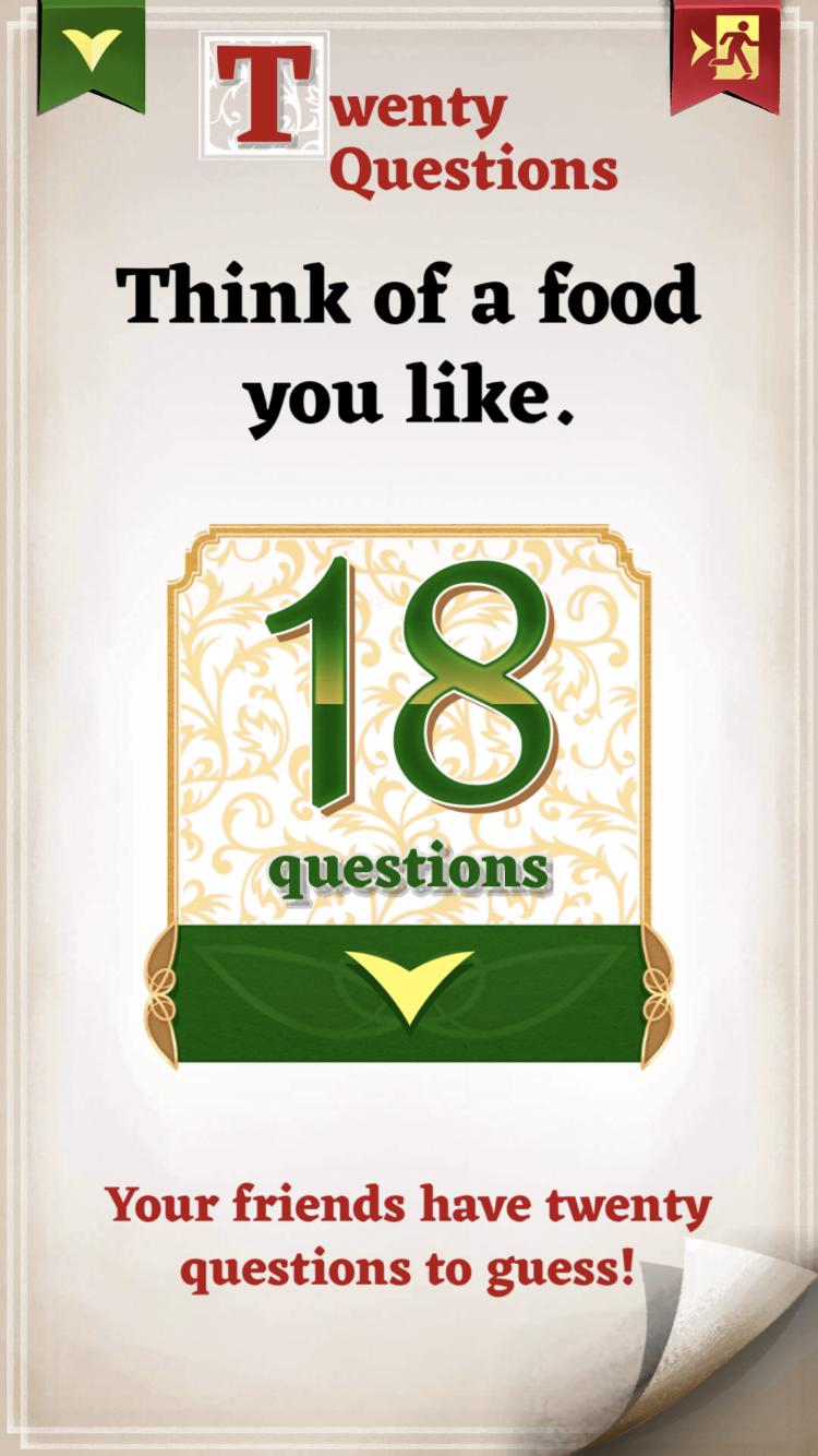 ピーターパンでは2人でプレイして20の質問から相手の好きな食べ物を当てるゲーム。盛り上がりました笑