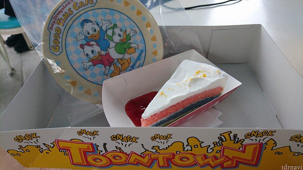 ショートケーキセット(800円)です!