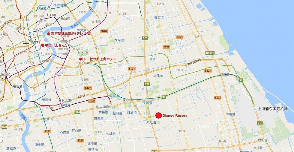 ホテルから東方明珠電視塔(テレビ塔)までは地下鉄2号線で4駅です!