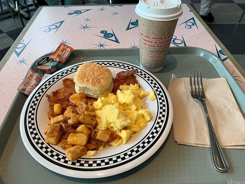 American Breakfast & Hot coffe