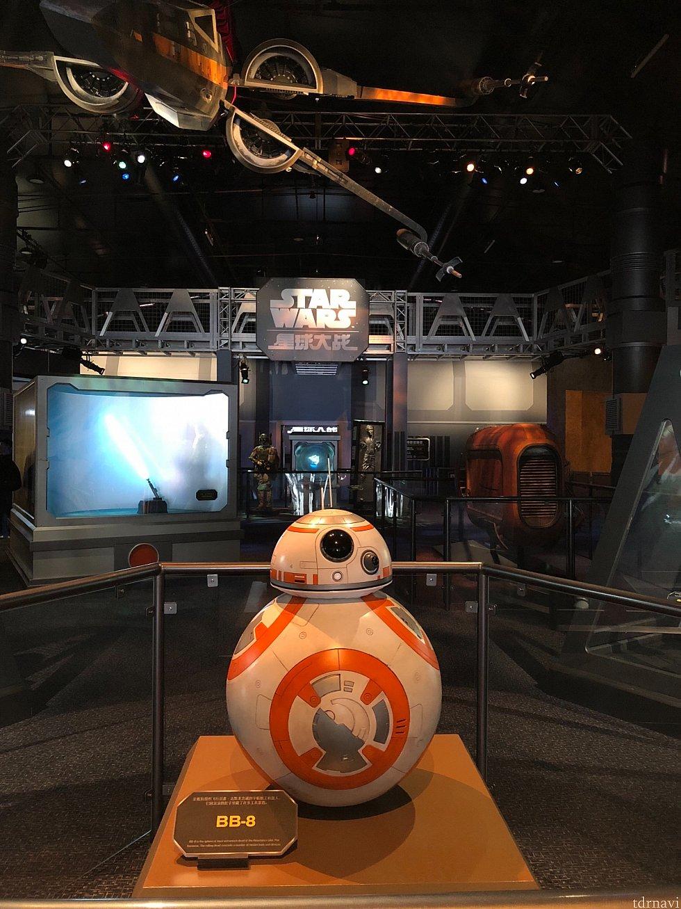 BB-8がお出迎え!
