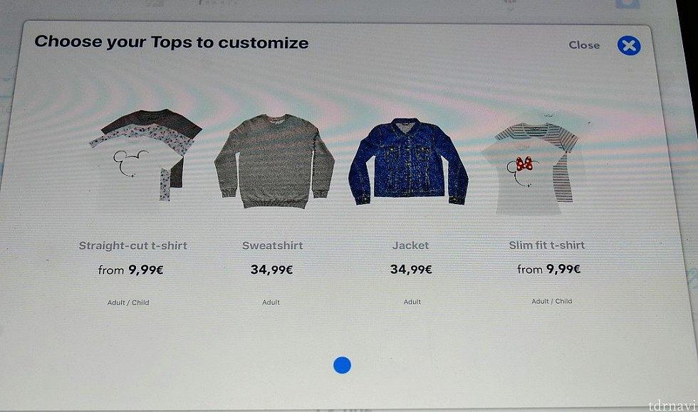 TOPS(ストレートTシャツ・トレーナー・デニムジャケット・スリムフィットTシャツ)