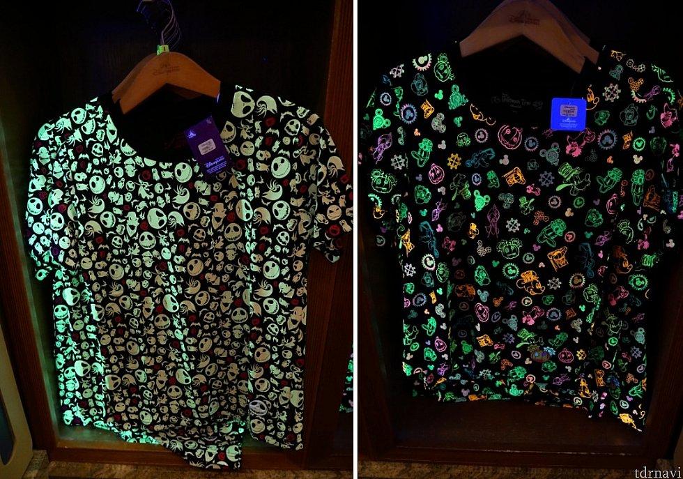Tシャツ 各218HKドル