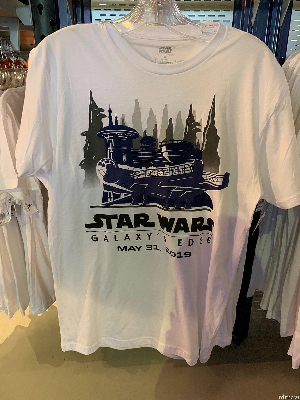初日から推しまくってたTシャツ。35ドル。