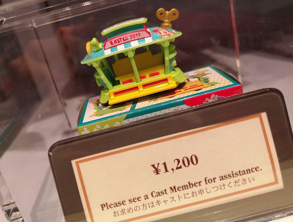 トミカ、1,200円。