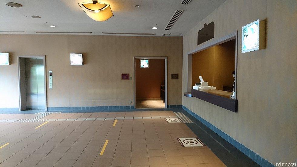 宅配サービス&トイレも使用可能です。