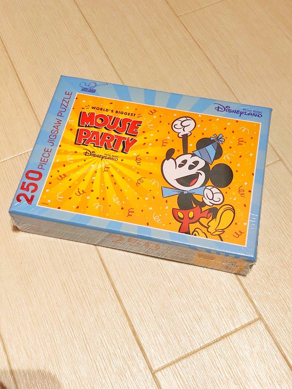 プレゼント内容は、90周年ミッキーのジグソーパズル(250ピース)