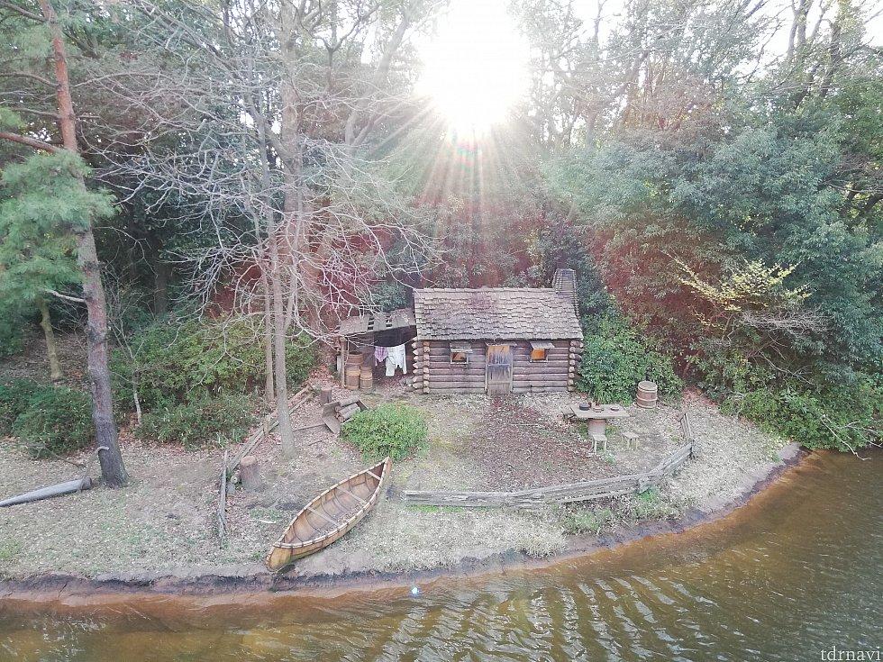 開拓者の小屋