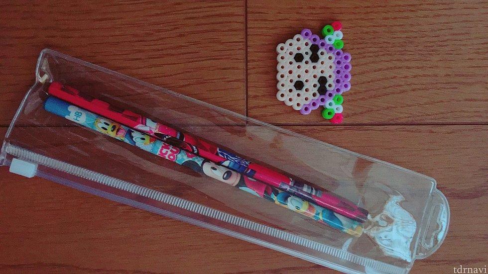 キッズルームを出る際には鉛筆や消しゴムなどちょっとしたものをくれます。