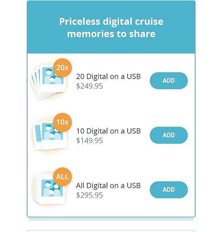 ourcruiseというサイトで事前申込ができます。 私が申し込んだときの価格です。
