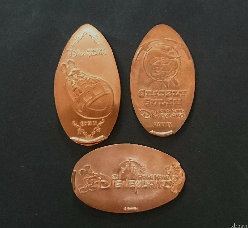 以前作ったコインです。