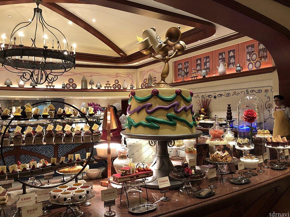 ルミエール自慢のデザートがたくさん!
