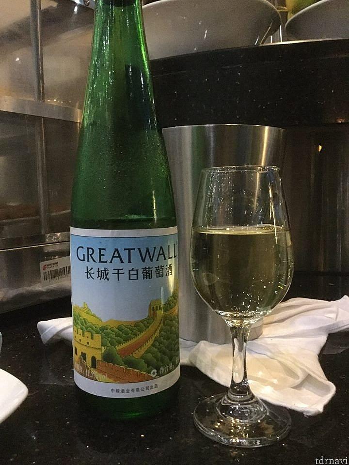 中国産と思われる白ワイン