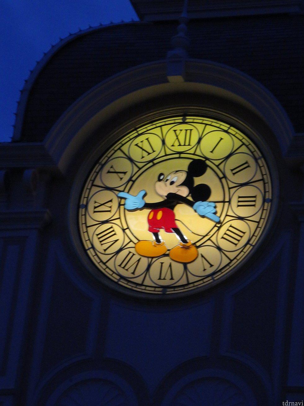時計がミッキー!なにこれ欲しい