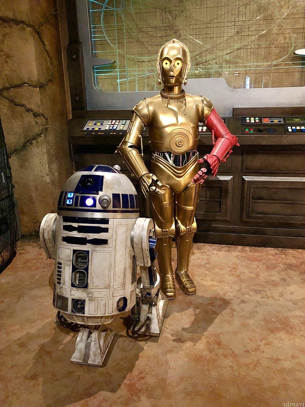C-3POはいない事もあるようです
