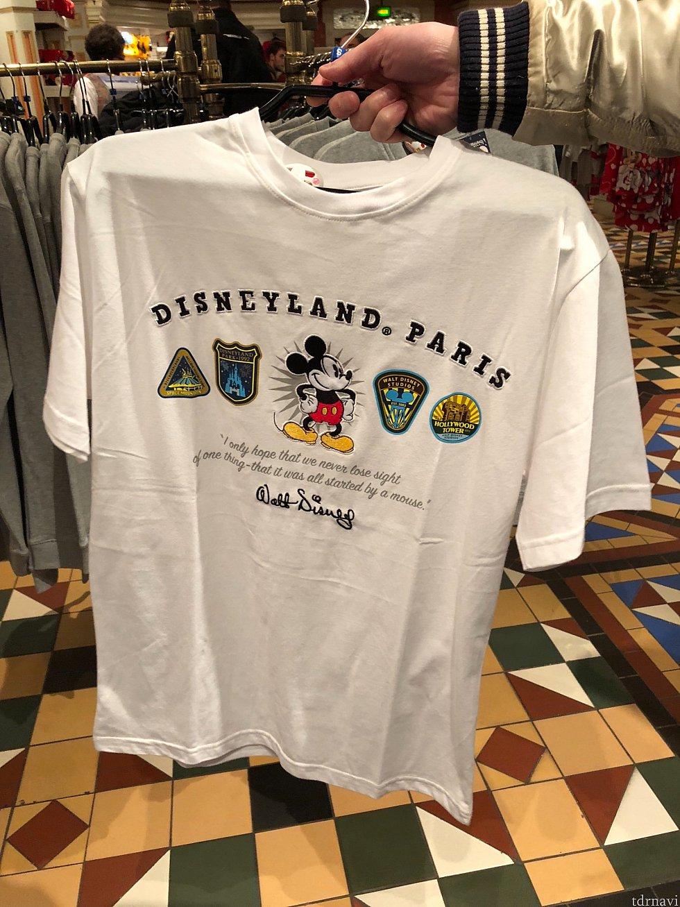 このTシャツに一目惚れしました!25.99€