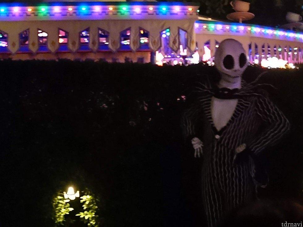 暗闇のジャック。ちょっとこわかった。さすが。