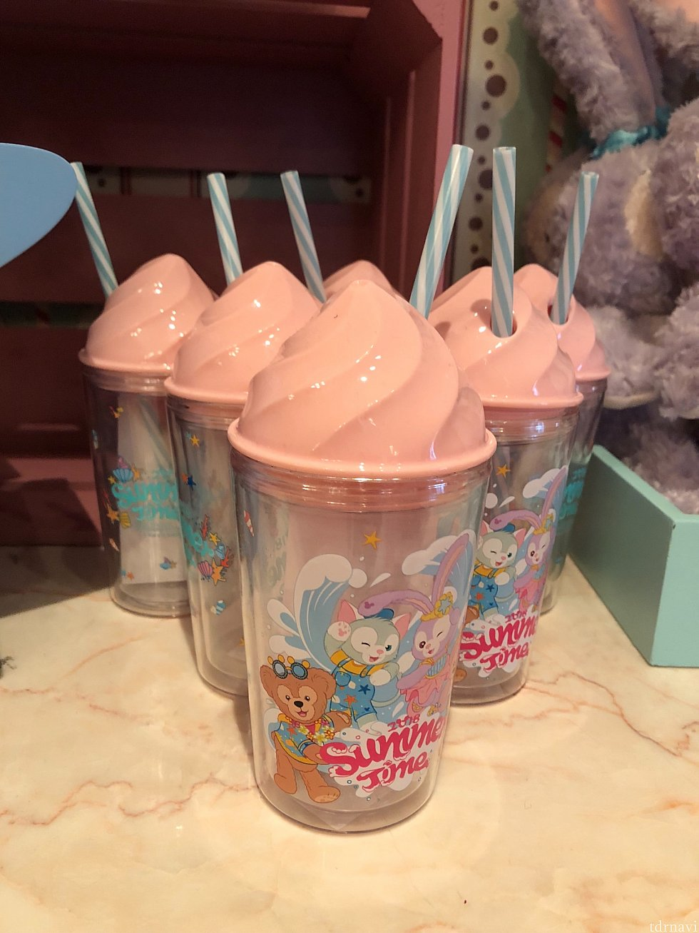 夏グッズの可愛いカップ 85元