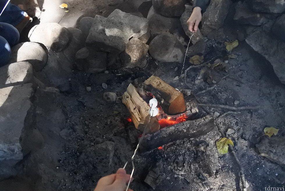 焼きマシュマロ
