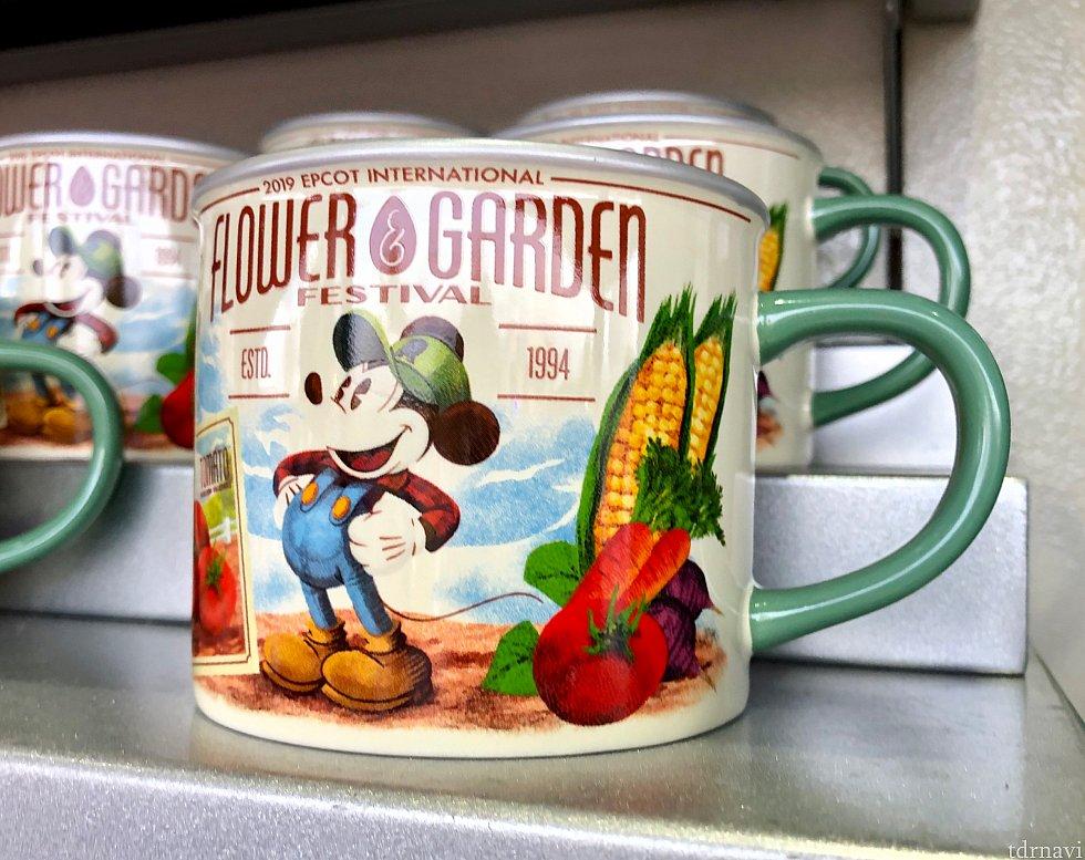 アメリカのベジタブルの缶詰チックなマグカップ。$16.99