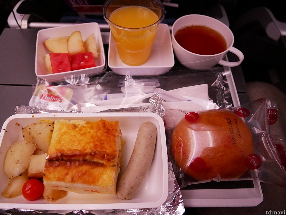 【復路】朝食