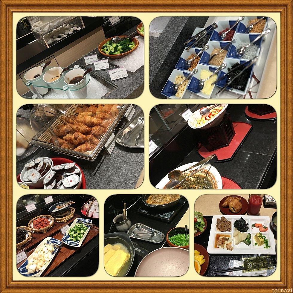和食のブッフェ朝食利用です。割引券使って1680円でした(^o^)