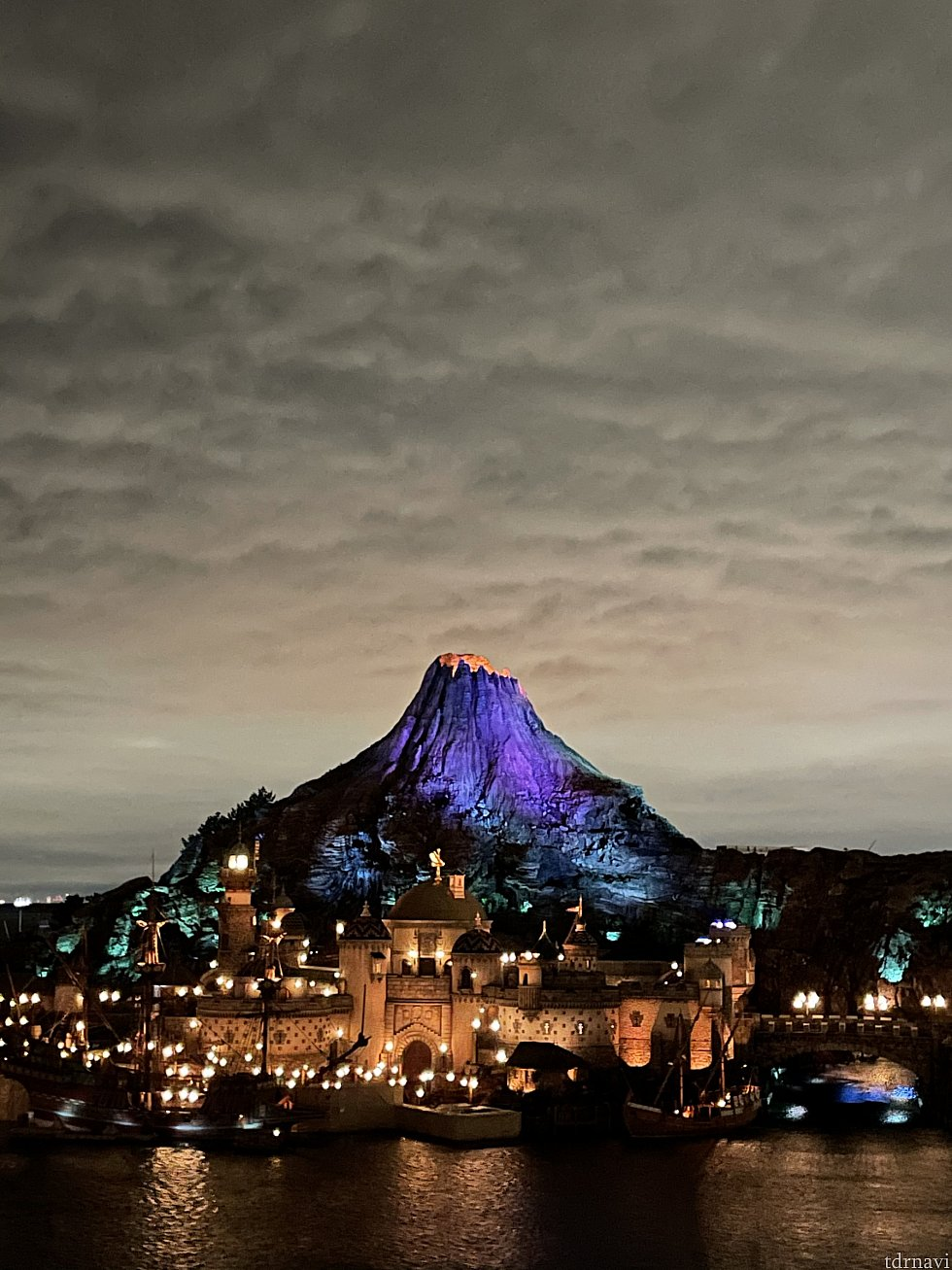 夜の景色<br> 紫で素敵…