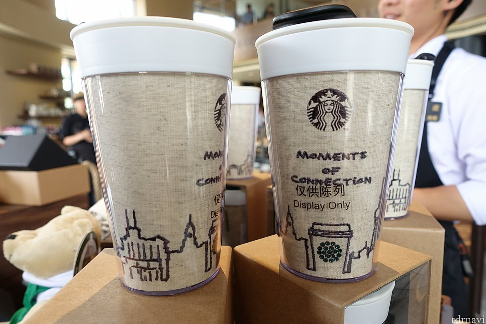 店員さん曰く、このカップが上海ディズニー限定らしい。