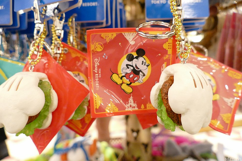みんな大好きチキンパオもキーチェーンに! こんなの鞄につけてたら 見る度にお腹すきそう。笑
