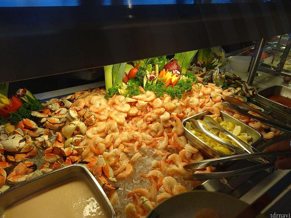 【ランチ】エビ&ムール貝好きにはたまらん!食べ過ぎ注意