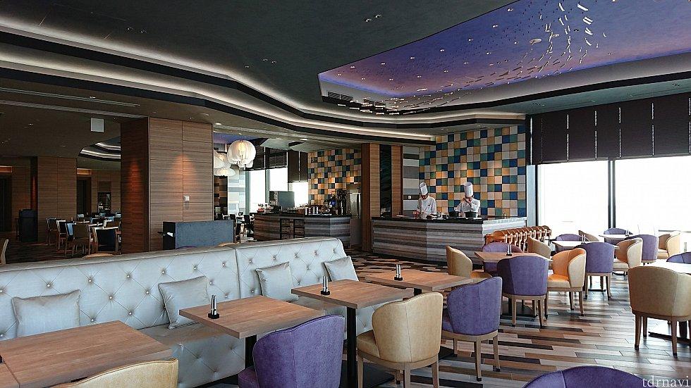 2階レストランは天気が良いとテラス席も利用できるそうです