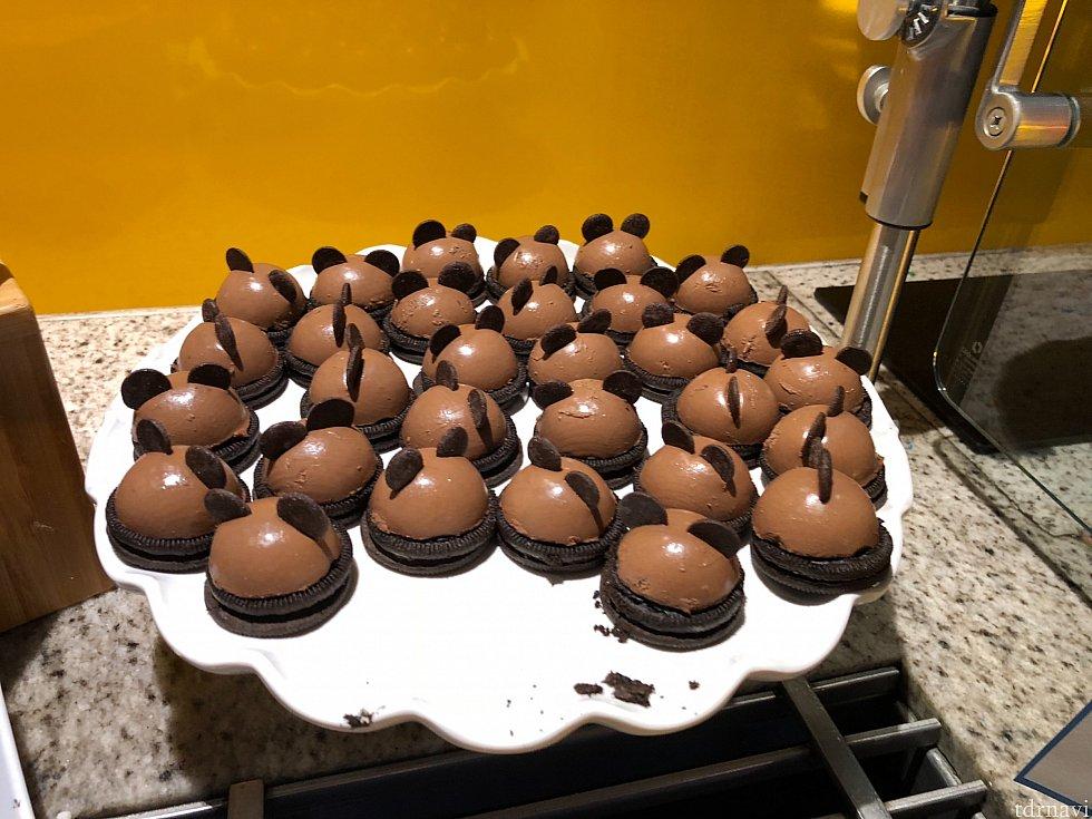 チョコレートケーキです。 甘めですが、自分は好きです🤗