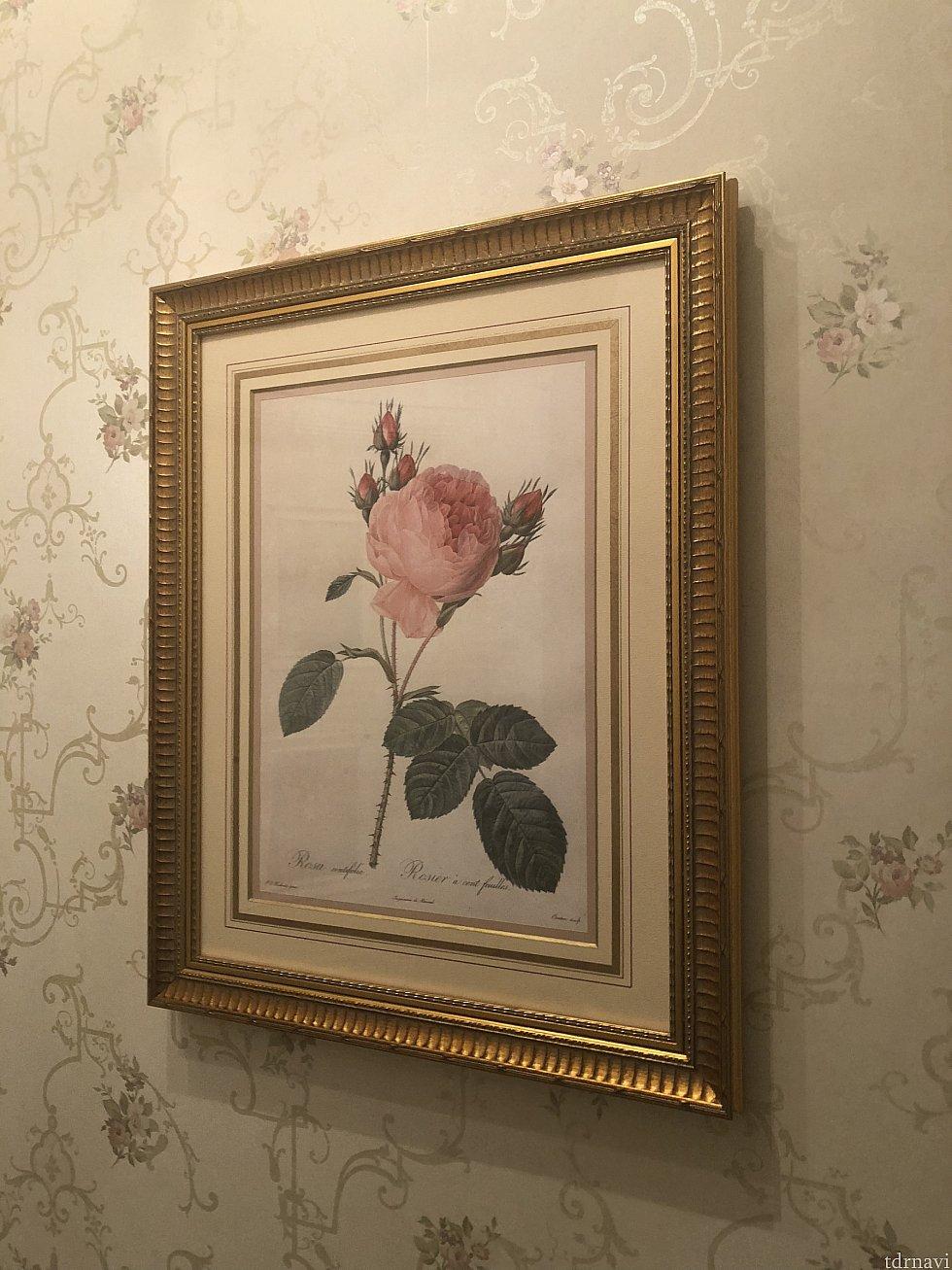 薔薇の絵画③