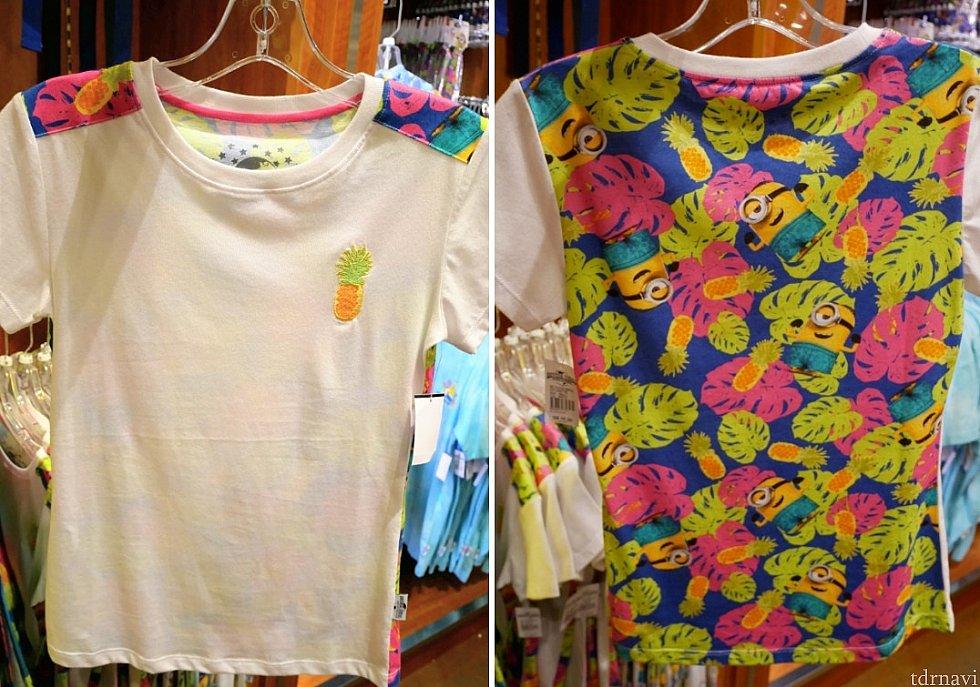 柄が気に入ってTシャツも購入! $35
