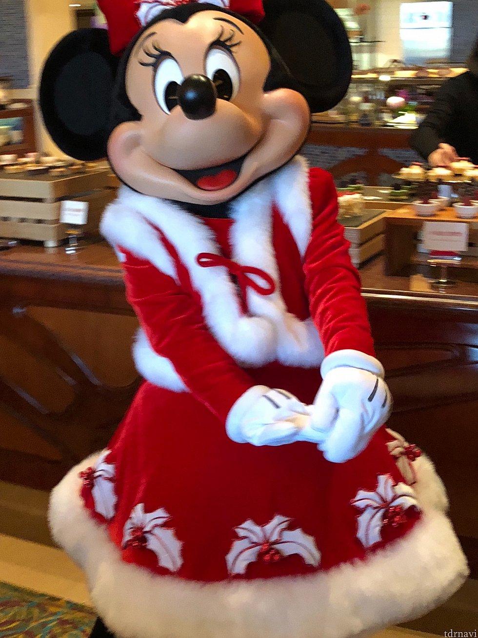 サンタミニーちゃんに会えます🎄