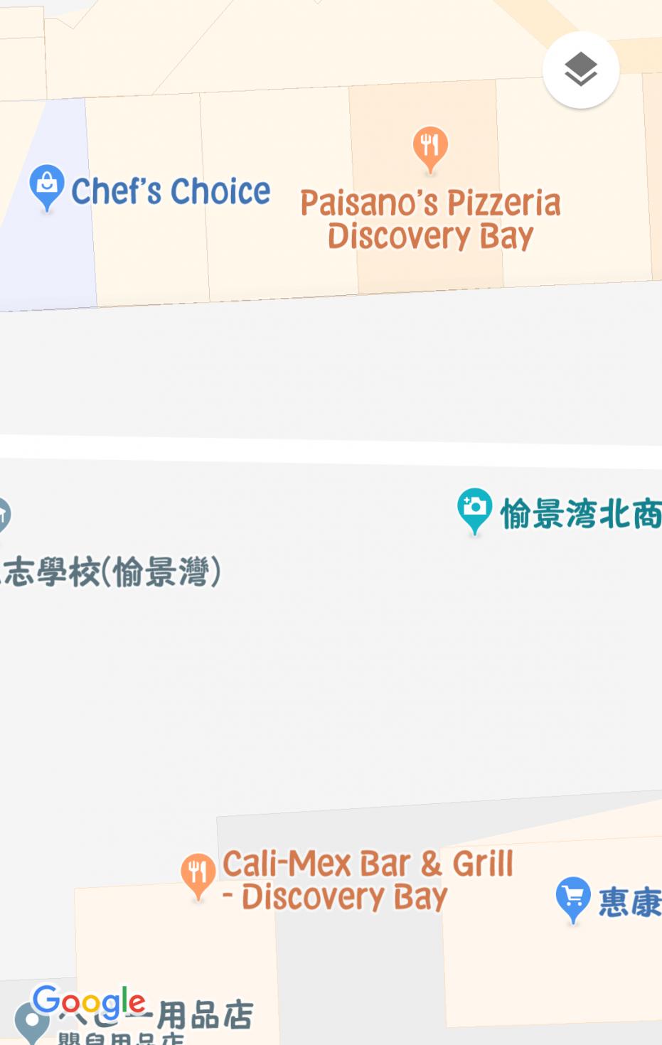 スーパーの向かいにある建物にあるレストランなど。 『Chef's Choice』の隣がスタバになります。