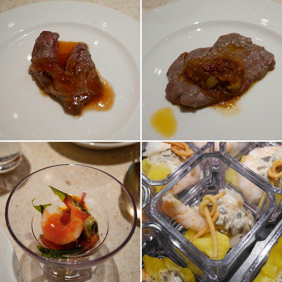 【その他】一皿ずつ提供されるお肉はオニオンソースのが美味しくて3皿食べました✨お肉柔らかーい❤