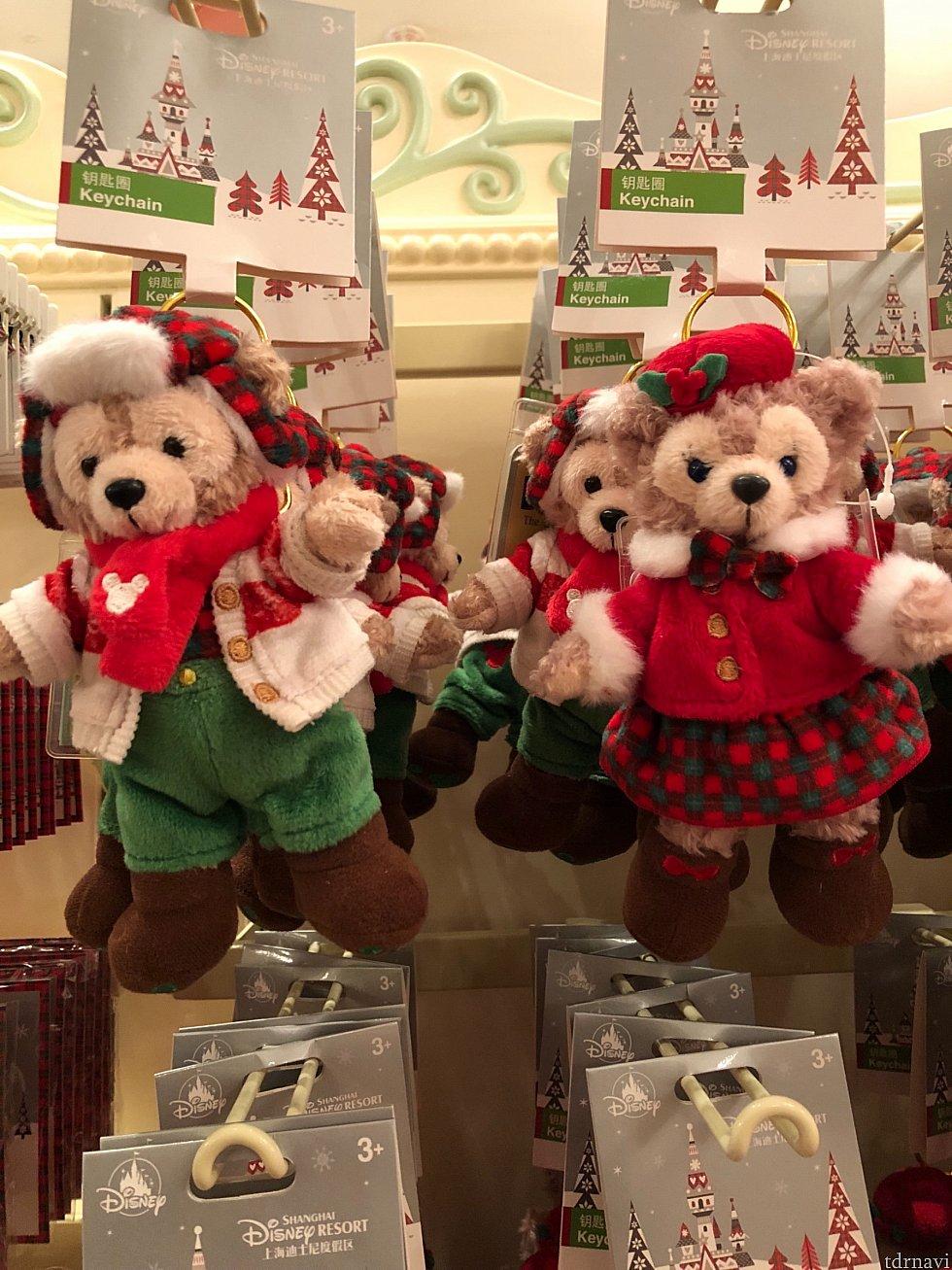 チェックで統一感があり、クリスマスらしくて可愛い♡