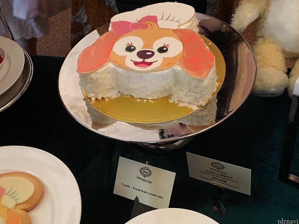 ホテルのバースデーケーキにもクッキーが登場するようですよ