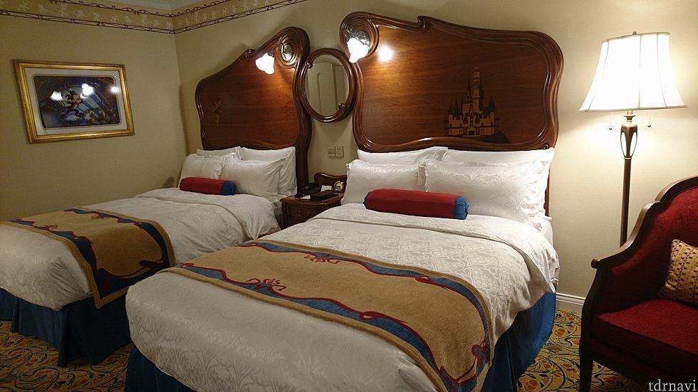 ベッドです。