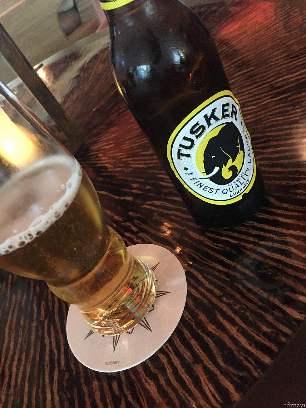 ビールは生ビールもありました。6ドルから10ドル位の相場。