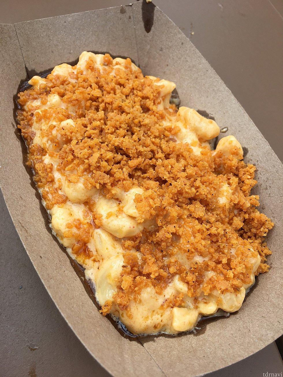 [PEPPERS CALI-ENTE]のマカロニチーズ。美味しかったけど、火を吹いちゃうほど辛かった💦