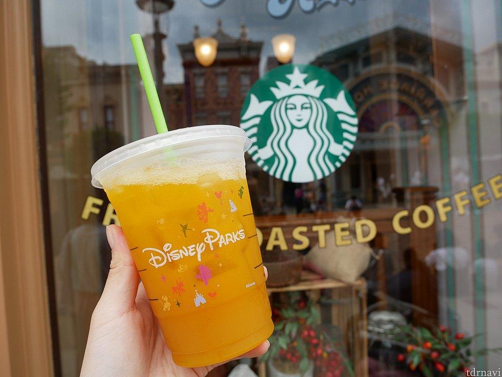 Iced shaken juiced TEAのマンゴーは美味しかったです😌✨味には満足です! ストローは紙で出来ているので、長時間放置するとふにゃふにゃするので注意してください!