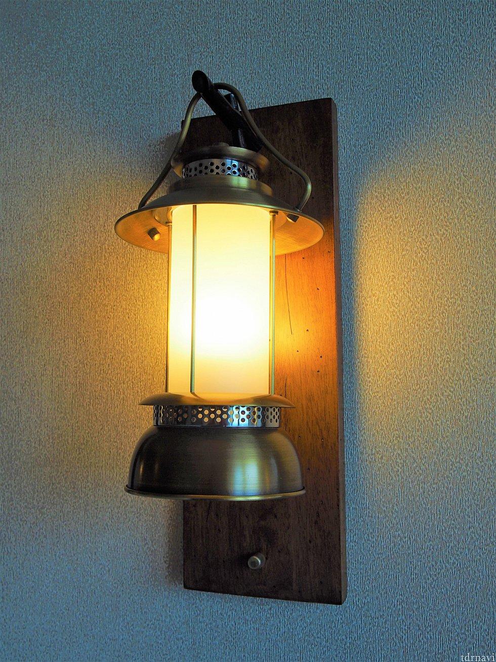 ランプも可愛いです。