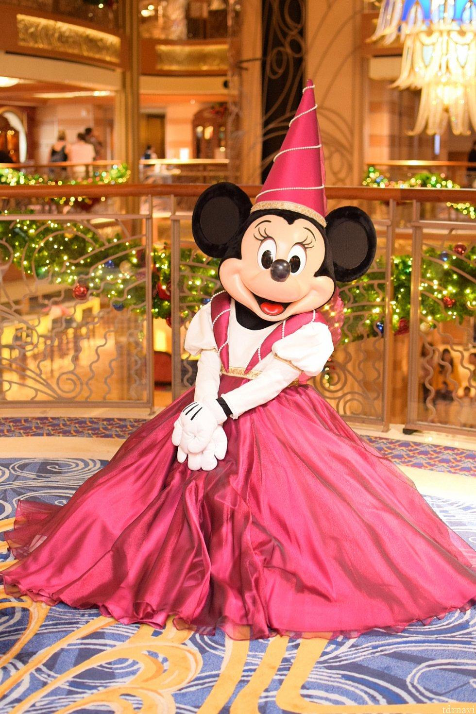 美しいミニー姫♡