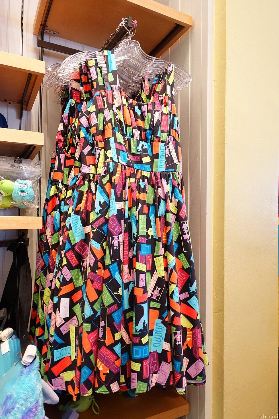 モンスターズインクのドレス