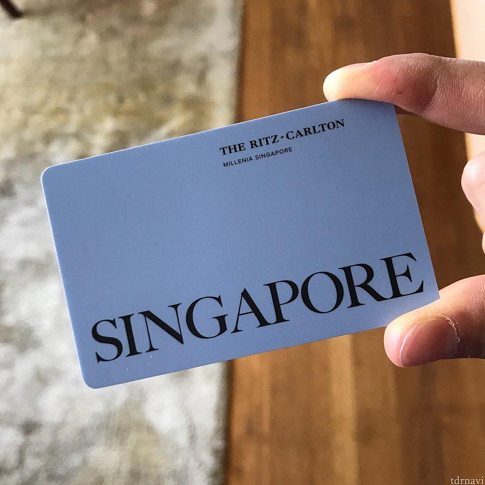 カードキーもお洒落です。 アナハイムのお得なホテルと比べてください(笑)