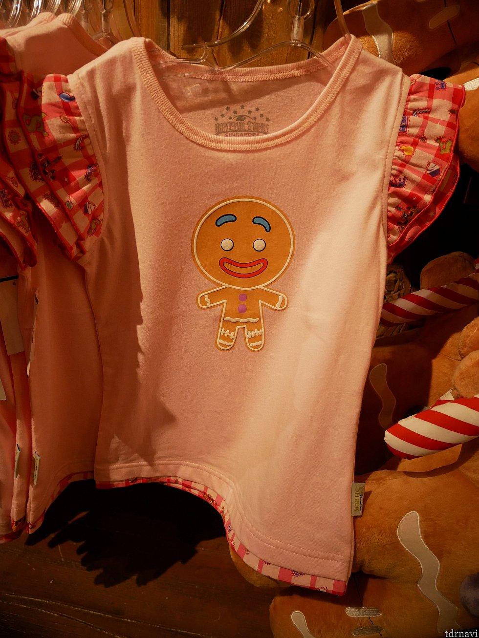 子供用のTシャツ 25ドル